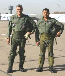 Last of the Valiants - Wg Cdr Joshi and Sqn Ldr Sahu