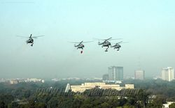 Mi-17s over Rajpath