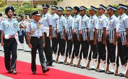 Send Off to Air Chief Marshal F H Major