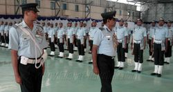 Guard of Honour to AOC-in-C WAC