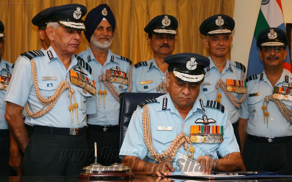 Air Chief Marshal P V Naik - New CAS