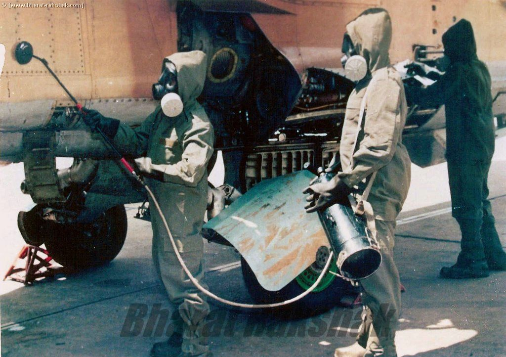 Using the PDA on a MiG-27