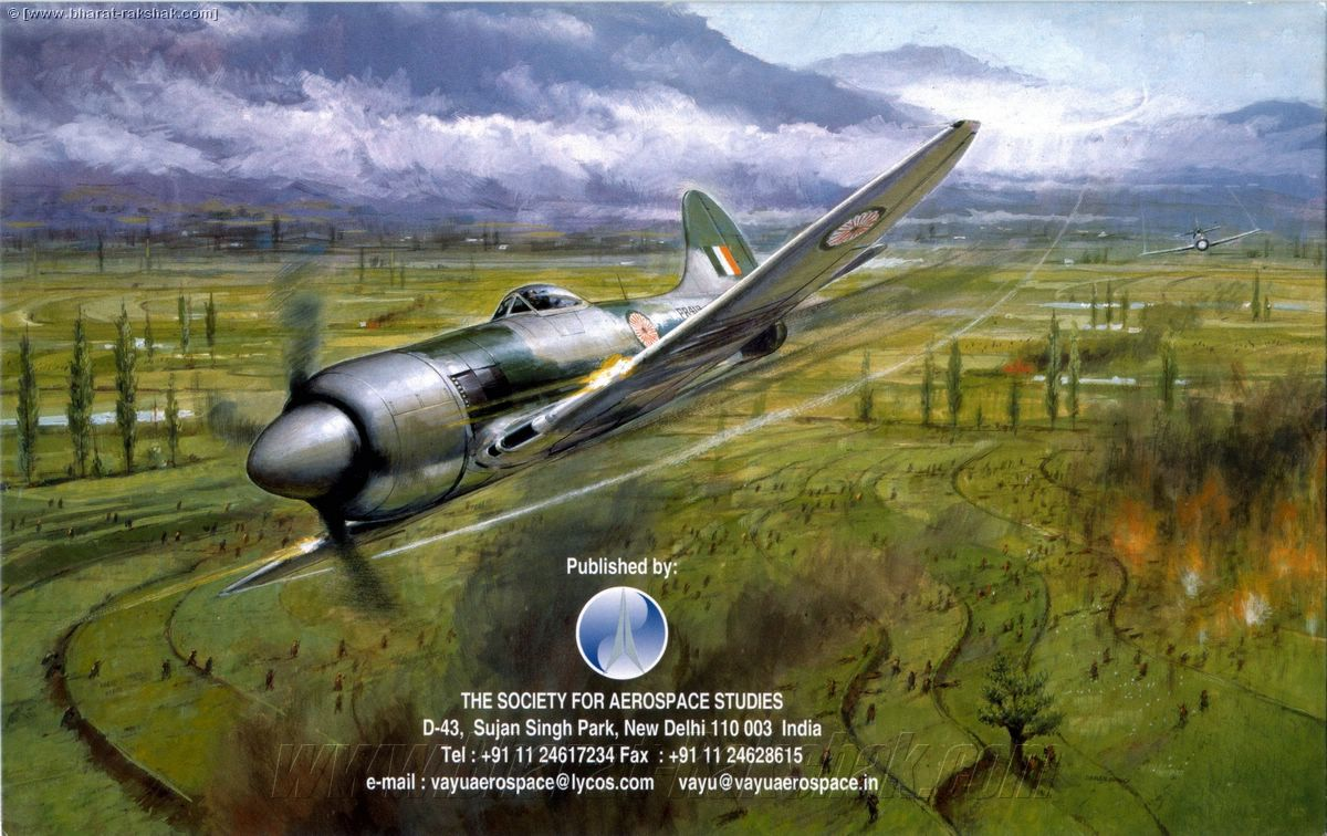 1947 Hawker Tempest II in the Kashmir Valley