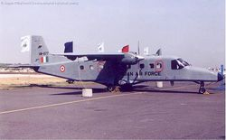Dornier Do-228 in the new low viz scheme