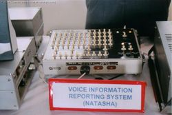 The Natasha Voice Information Reporting system from a MiG-29
