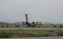 Il-76 Loaded Up