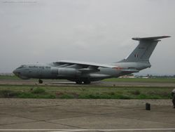 Il-78 refueller from 78 Squadron