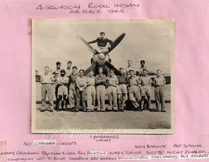 Frank Shelton's Photos of No.4 Squadron