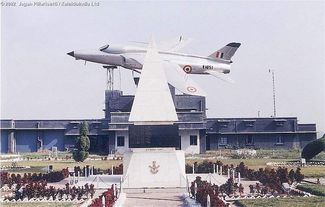 Frozen Tear Memorial at  Ambala AFS (7 Wing)