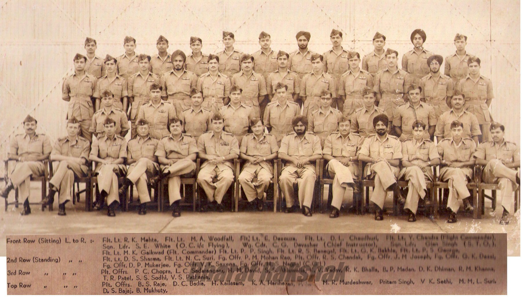 Group Photo of 69th Pilot's Course