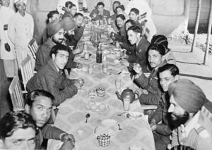 Dinner Party with the visiting AOC - 4th February 1944.