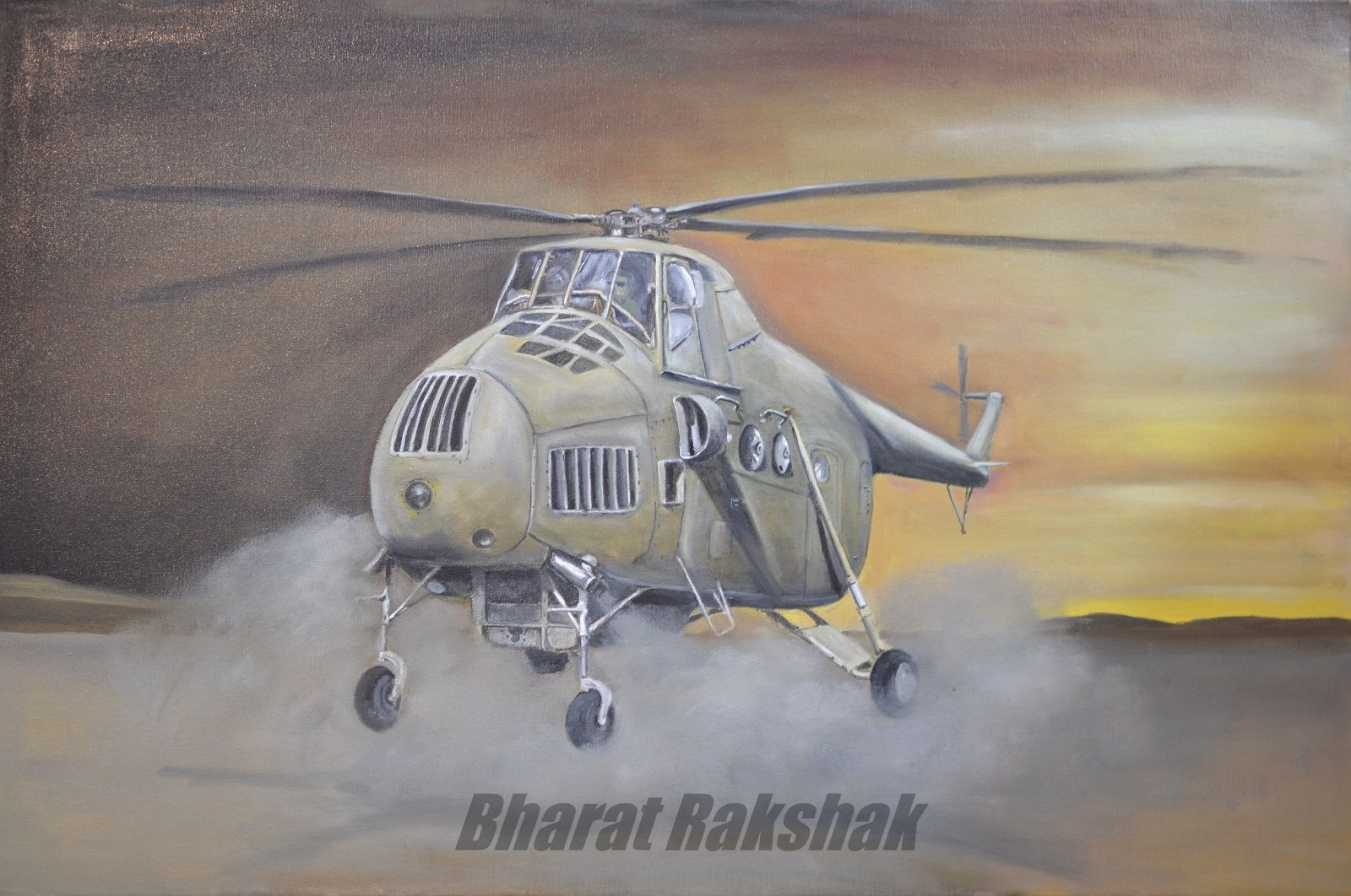 BharatRakshak Indian Air Force| Rotary-Workhorse-Mi-4