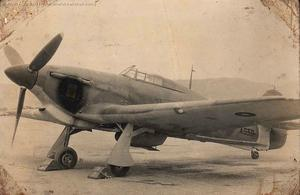 Hawker Hurricane AG331 at Kohat
