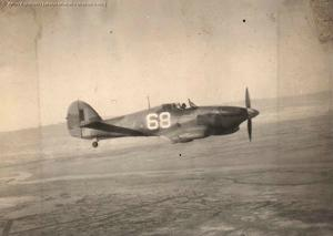 Hawker Hurricane with OTU markings
