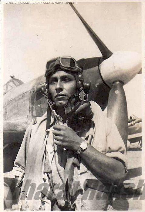 Unidentified pilot - possibly Salahuddin?