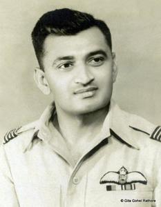 Group Captain Himmat Singh Ravubha Gohel (IND/1705)