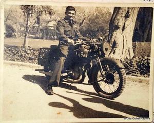 Motorbike at Kohat - 1942/43