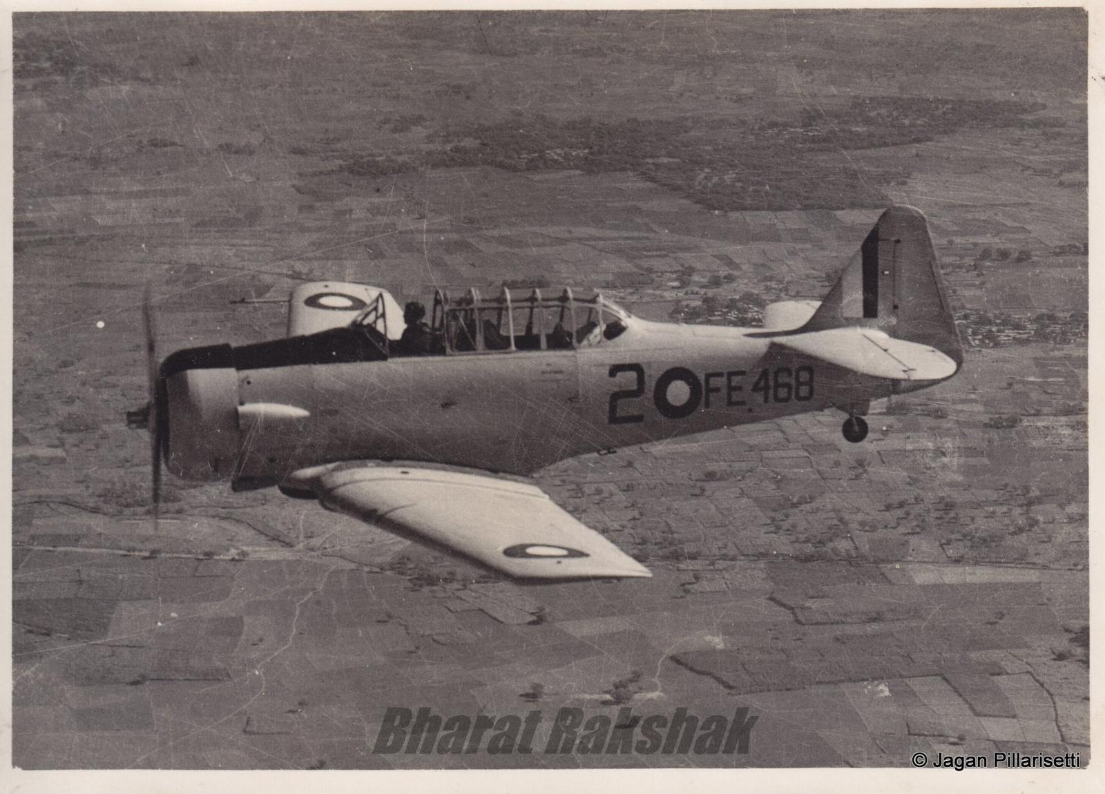 Harvard FE468 of No.1 SFTS (India) , Ambala