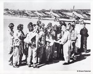 Pilots training at No.1 SFTS in 1941.