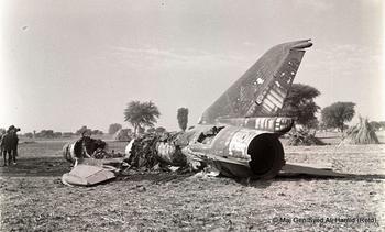Flt Lt Gurdeep Singh's Sukhoi-7