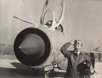 Minoo Engineer after the Repubic Day Flypast 1973