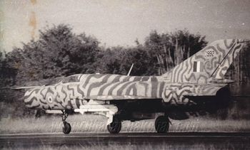 MiG-21 FL (C992) operating from Uttarlai