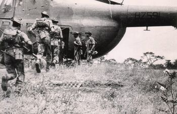 c 1968 Mil Mi-4 during an anti-Mizo Insurgent Operations