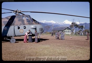 Royal Transport for Sikkim - an Mi-4