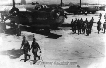 B24 Liberators at Poona