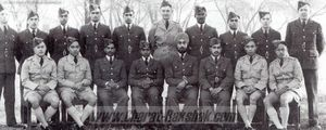 Pilots from the No.5 Course at Ambala.