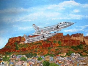 Maruts over Jodhpur
