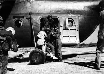 Mi-4 Evacuation