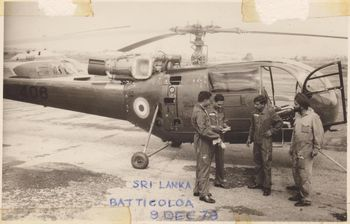 IAF Detachment to Sri Lanka 1978
