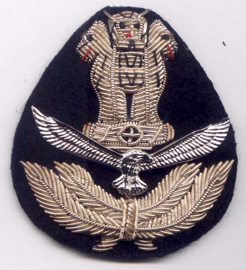 Headgear Badges - Bharat Rakshak:Indian Air Force