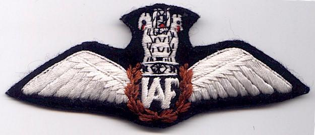 Pilot Wings - Bharat Rakshak:Indian Air Force