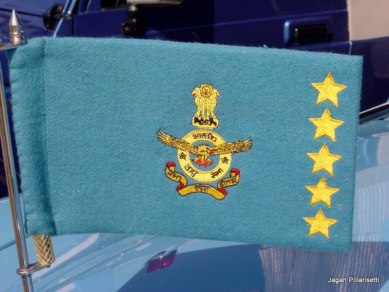 Rank Flags Bharat Rakshakindian Air Force
