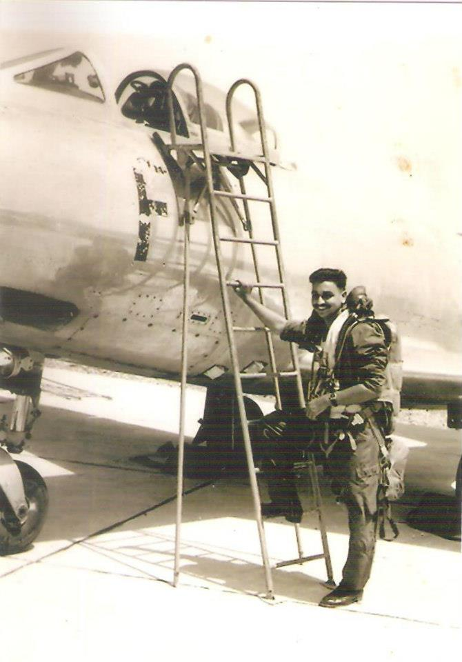 The Author from his days operating the Toofani fighter