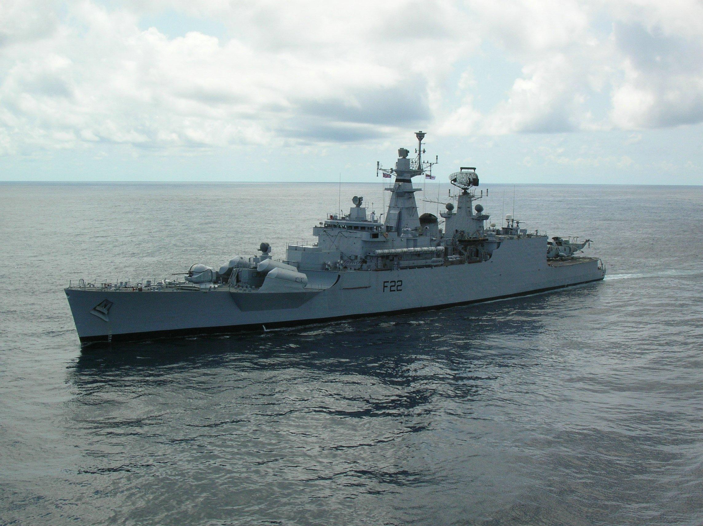 ins ganga f22 godavari class frigate india
