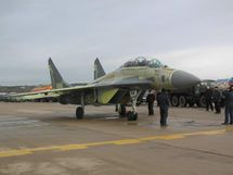 The Indian Navy's first MiG-29KUB