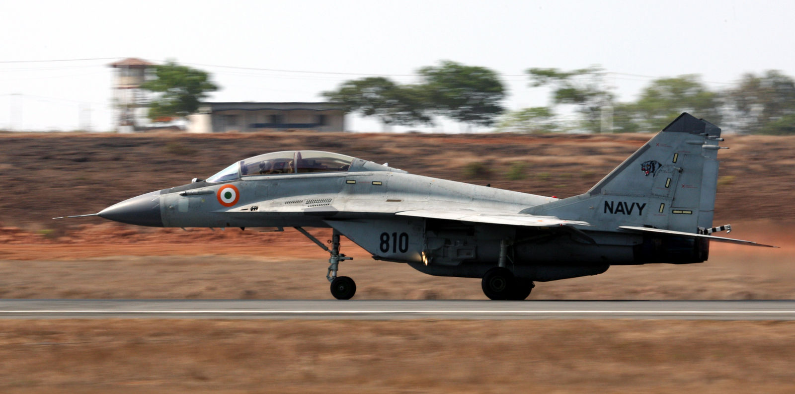 MiG-29K (IN 810) taking off