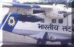 The Dornier Do-228 can also carry a pair of gun pods fitted under its wings. Image © Indian Coast Guard