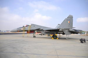 Su-30MKI Detachment At Aero India 2017