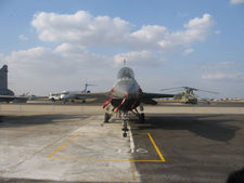 F 16 Front View