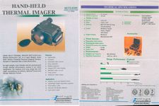 Hand-Held Thernal Imager BETI-0109