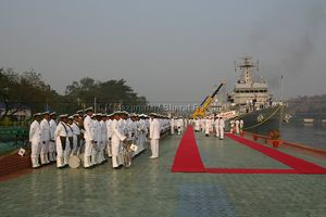 Guard of Honor & Navy Band