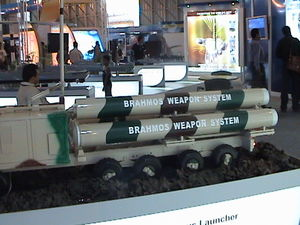 Model of Brahmos launcher