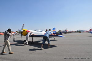 Flying Bulls doing Dhakka Start