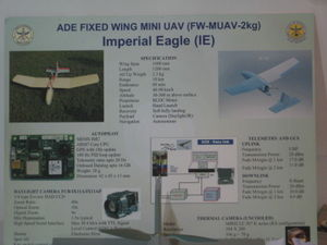 The Imperial Eagele UAV Info Board