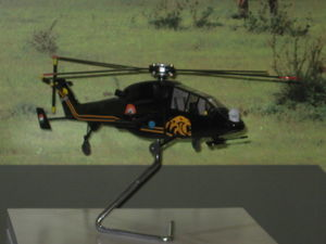 Model of the LCH at Army Aviation Corps stall.