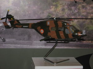 Model of the WSI-ALH at the Army Aviation Corps stall.